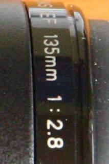 EF135mmF2.8クローズアップ