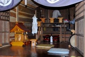 滝神社お神輿