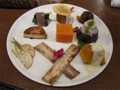 三浦シェフのお料理