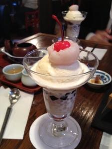 悟空茶荘パフェ