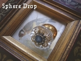 Sphere Dropブラウンフープのリング