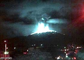 コロンビア火山