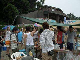 20050730 猿島 乾杯