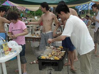 20050730 猿島 バーベキュー