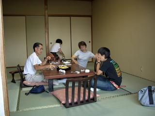 20050811 香嶽楼 部屋