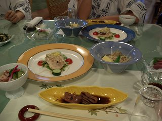 20050811 香嶽楼 夕食