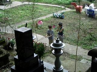 20050814 お墓参り