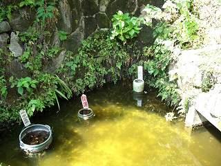 20050828 下田城 超能力池