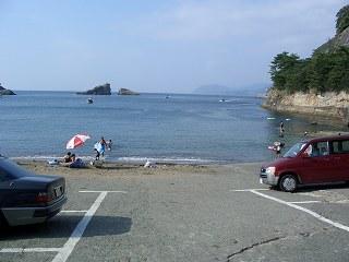 20050828 雲見海岸 プライベートビーチ