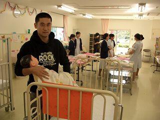 20051105 よこはま看護専門学校祭 沐浴4