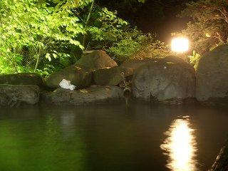 20051112 ホテル白銀 露天風呂