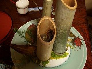 20051112 ホテル白銀 鮎酒
