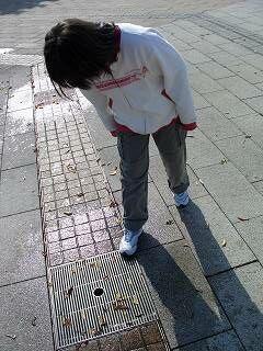 20051113 小布施ハイウェイオアシス 覗く