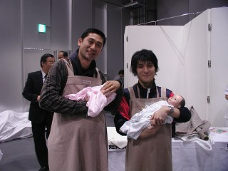 20051127 さんフェア2005 妊婦体験