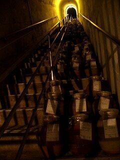 20051210 玉泉洞 古酒貯蔵