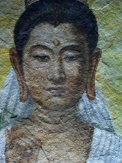 20060520 観世音寺風天洞 天井仏像