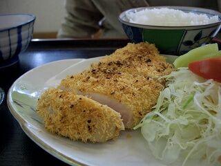 20060520 花の木 白味噌漬けチキンカツ