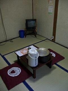 20060710 鉛温泉 自炊部部屋