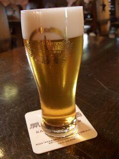 20060721 サッポロビール博物館 生ビール
