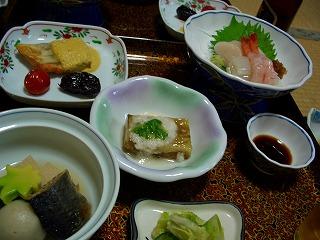 20060722 鯉川温泉 夕食