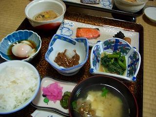 20060722 鯉川温泉 朝食