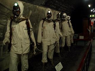 20060725 石炭の歴史村 人形2