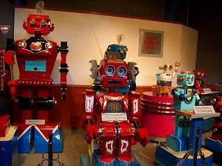 20060725 石炭の歴史村 ロボット館 歴代レボット