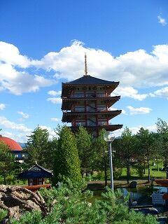 20060725 北の京芦別 五重塔