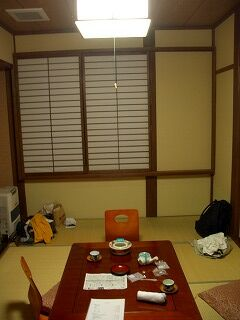 20060918 姥湯温泉 枡形屋 部屋