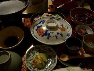 20060918 姥湯温泉 夕食
