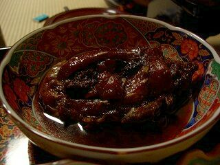 20060918 姥湯温泉 夕食 鯉の尼煮