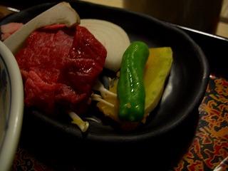 20060918 姥湯温泉 夕食 米沢牛
