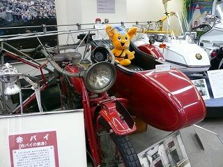 20070114 警察博物館 赤バイ