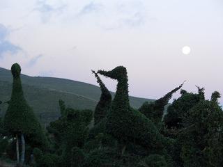 20061006 阿蘇山 謎のオブジェ1