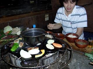 20061006 地獄温泉清風荘 夕食3