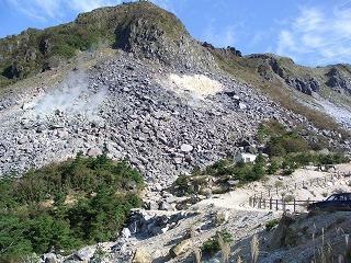 20061009 塚原温泉 火山