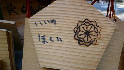 20070430 護国神社 絵馬3