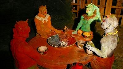 20070501 ハニベ岩窟院 鬼の食卓