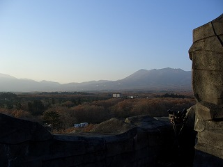 20061125 黄金の巨大神像 展望