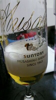 20070520 サントリービール工場 注ぎ方1