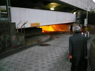 20070131 高輪トンネル 低すぎる