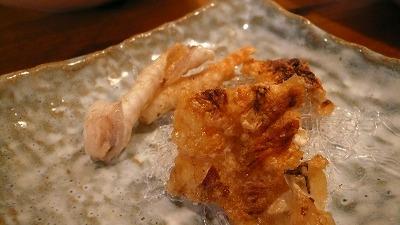 20071102 いまどき クエ皮焼き