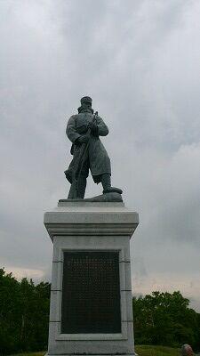 20070609 雪中行軍遭難記念碑