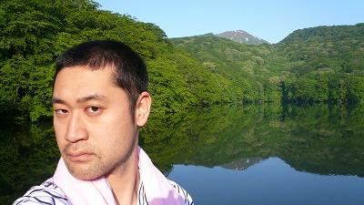 20070610 蔦温泉 記念撮影