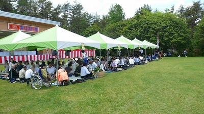 20070610 キリスト祭り テント
