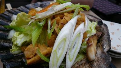 20070610 みろく横丁 ウニの貝焼き
