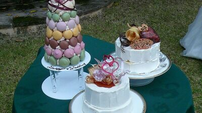 20070922 披露宴 ケーキ