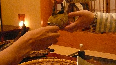 20080119 渋辰野館 骨酒