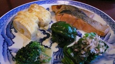 20080120 渋辰野館 朝食