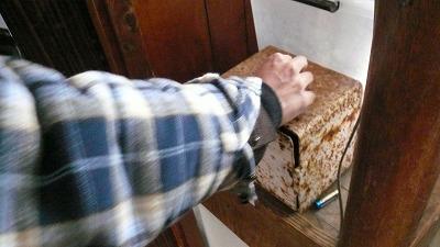 20080120 高梨共同浴場 チャリーン